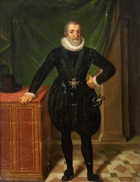 portrait d'henri iv by frans pourbus the younger