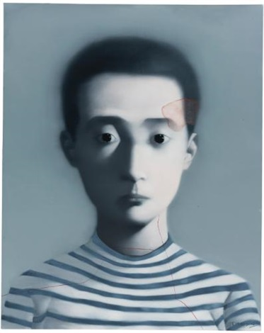 boy bloodline series by zhang xiaogang