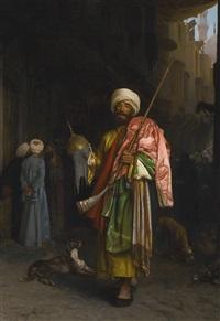 marchand ambulant au caire by jean-léon gérôme