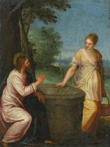 christ and the woman at the well by hans rottenhammer the elder