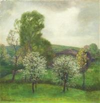 primavera a pecetto torinese by pietro anacleto boccalatte