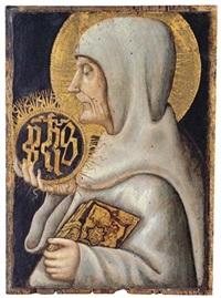 saint bernard of siena by priamo della quercia