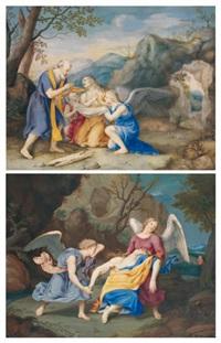 la communion de sainte marie madeleine (+ la mort de sainte marie madeleine; pair) by giovanna garzoni