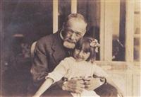 ferdinand hodler hält sein töchterchen paulette in seinen armen (18. mai 1918) by gertrud müller