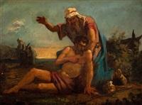 scena z przypowieści o miłosiernym samarytaninie by henryk siemiradzki