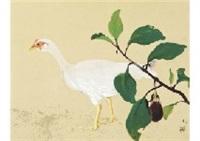autumn bird by ryushi kawabata