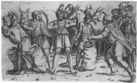josephs becher wird in benjamins sack gefunden by giovanni antonio da brescia