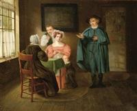 the visit by wijtze de haan