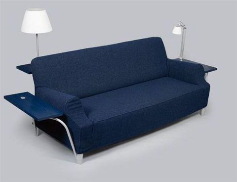 canap lazy working sofa by philippe starck on artnet. Black Bedroom Furniture Sets. Home Design Ideas
