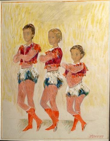 les 3 acrobates by alexis paul arapov