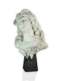 bust of a beauty by a. testi
