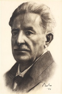 portretul lui ioan slavici by corneliu baba
