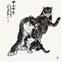 母子安乐 by ma xinhua