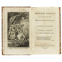 british essays in favour of the brave corsicans: by several hands (bk by james boswell w/ frontispiece; 1 work) by j. miller
