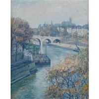 pont ste marie a paris by frank milton armington