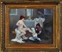 la sortie du bain by paul alexis lerolle