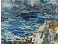looking to skye by william george gillies