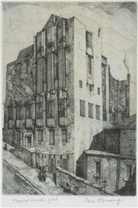 glasgow school of art by ian fleming