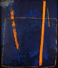 kompozycja niebieska by witold adamczyk