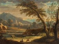 roman campagna by giacomo van (monsù studio) lint