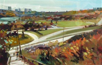 edmonton river valley view by jim vest