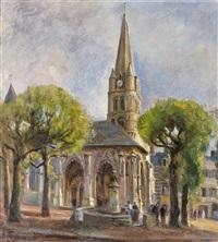 eglise de montivilliers by raymond (louis) le court