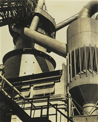 abstract ̶ ford plant by charles sheeler