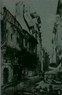 la rue eau-de-robec by hippolyte madelaine