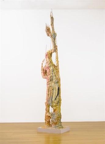 monument stalagmitepink by sterling ruby