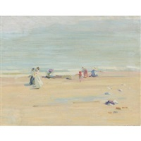 an english beach by helen galloway mcnicoll