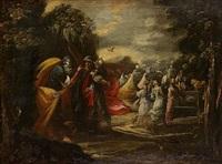 l'adoration du veau d'or by giovanni andrea (il mastelletta) donducci