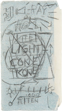 light cone by jean michel basquiat