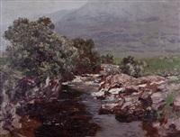 an ayrshire burn by george houston