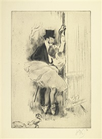 petite marcheuse (from la petite classe series) by louis legrand