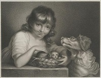 animal affection (+ innocent recreation; 2 works, after w. miller) by james godby