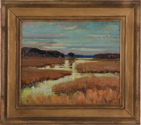 lowcountry marsh by alfred heber hutty