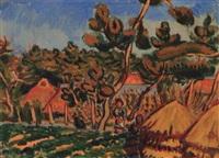 landscape by tetsugoro yorozu