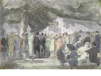 the royal garden party by edward ardizzone