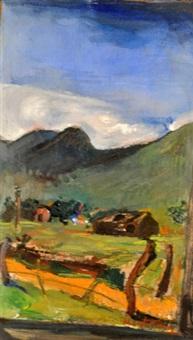 paisaje rural by miguel carlos victorica