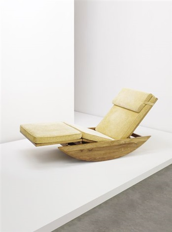 Chaise Longue Rocking Chair By Joaquim Tenreiro