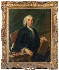 portrait de gentilhomme by jacques andré joseph aved