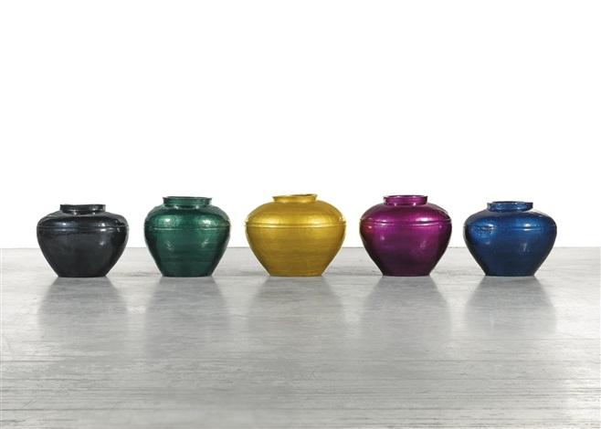 Han Dynasty Vases In Auto Paint By Ai Weiwei On Artnet