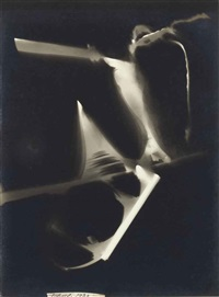 photogram by maurice tabard