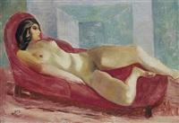 nu sur le divan by moïse kisling