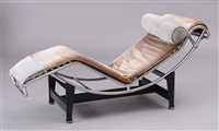 chaise by le corbusier and charlotte perriand