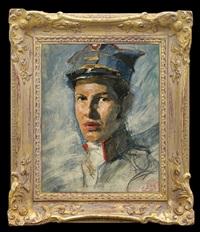 soldier portrait by adam styka