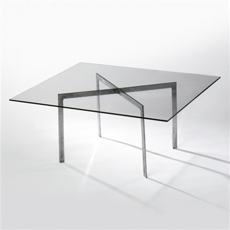 Tugendhat Coffee Table Model No Mr 150 By Ludwig Mies Van Der Rohe