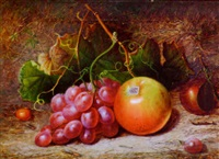 still life of fruit by charles archer