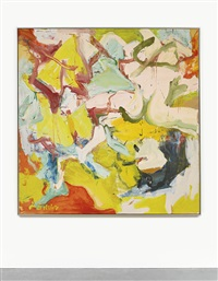 montauk iii by willem de kooning