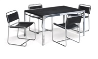 te21/se18 dining suite (5 pieces) by claire bataille